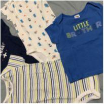 Set 4 peças Child of Mine by Carter's - 3 a 6 meses - Child of Mine