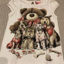 Camiseta mais que perfeita Momi - 3 anos - Momi