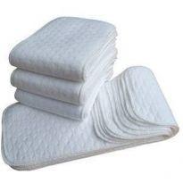 Kit 3 absorventes diurno 3 camadas em algodão, para Fralda ecológica. -  - Importada