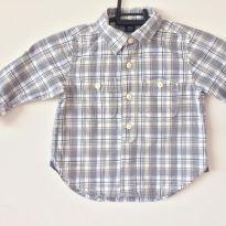 Camisa social baby gap 12 à 18 meses - 12 a 18 meses - Baby Gap