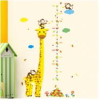Adesivo Girafa Medir Crianças -  - Importado