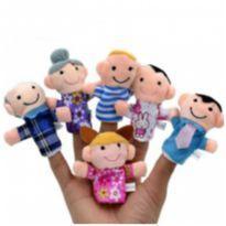 Familia dedo, dedoches (Fantoche de dedo kit) -  - Importado