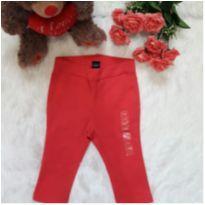 Legging Pink - 6 a 9 meses - Baby Gap