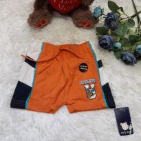 Short Laranja - 9 a 12 meses - Early  Days