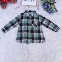 Camisa Infantil Xadrez - 12 a 18 meses - Primark