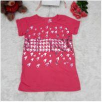 Camiseta Rosa Metálica - P - 38 - Atmosphera