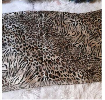 Echarpe Animal Print - Sem faixa etaria - Sem marca