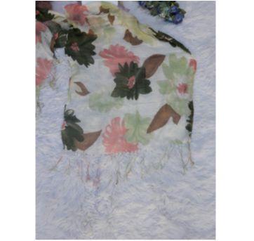 Echarpe Floral - Sem faixa etaria - Sem marca