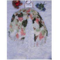 Echarpe Floral -  - Sem marca