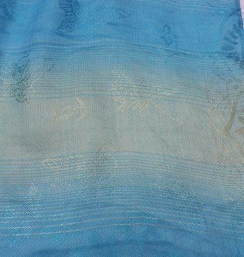 Lenço Azul Turquesa - Sem faixa etaria - Sem marca