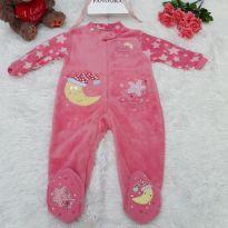Macacão Estrela Pink - 12 a 18 meses - Dunnes