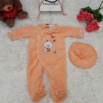 Body em Fleece - 3 a 6 meses - Baby Grand - USA