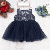 Vestido Festa Prata - 12 a 18 meses - Name it