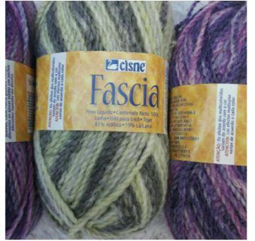 """5 Novelos de Lã """"Fascia"""" - Sem faixa etaria - Cisne"""