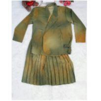 Conjunto Verde Vintage - M - 40 - 42 - Sem marca