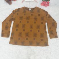 Blusa Dourada - G - 44 - 46 - Sem marca