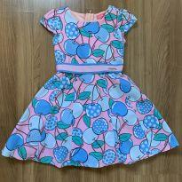 Vestido cerejas - 4 anos - Momi