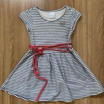 Vestido listrado com cinto de corda MALWEE - 4 anos - Malwee