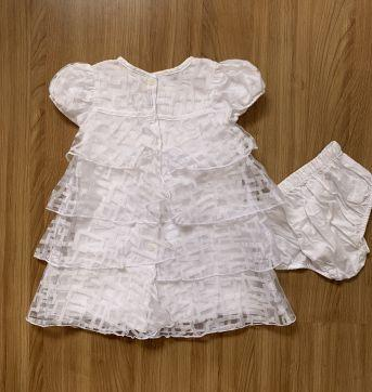Vestido de festa com camadas Tyrol - 1 ano - Tyrol