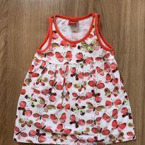 Vestido borboletas KYLY - 6 meses - Kyly