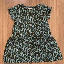 Vestido em malha estampado - 24 a 36 meses - Green