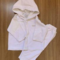Conjunto atoalhado de blusa e calça - 6 a 9 meses - Tilly Baby