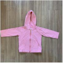 Blusa de moletom rosa com zíper e capuz QUIMBY - 2 anos - Quimby