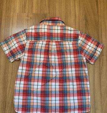 Camisa xadrez manga curta - 4 anos - Baby Gap
