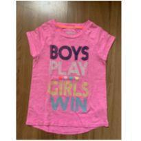Camiseta Boys Play Girls Win - 3 anos - OshKosh