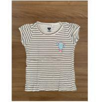 Camiseta manga curta listrada cactus - 3 anos - Baby Club