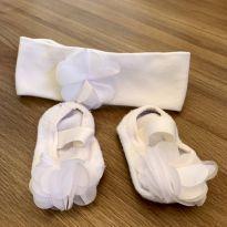 Kit com faixa e sapatilha de meia Puket -  - Puket