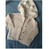Casaco rosa bebê com capuz Carter`s - 6 meses - Carter`s