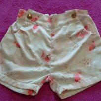 Kit de 3 Shorts - 3 anos - Sonho Mágico