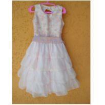 Vestido princesa - 4 anos - Não informada