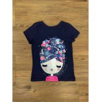 Camiseta Girl&Stars Gymboree - 2 anos - Gymboree
