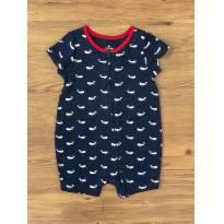Pijama Baleias GAP - 6 a 9 meses - GAP