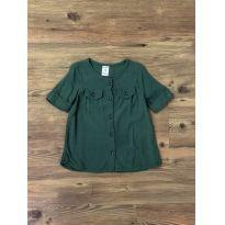 Camisa Verde Militar Carter`s - 18 meses - Carter`s