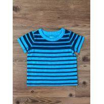 Camiseta Listrada Carter`s - 6 meses - Carter`s