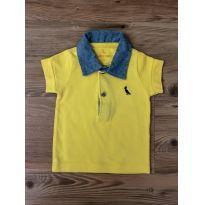 Polo Amarela Reserva Mini - 6 a 9 meses - Reserva