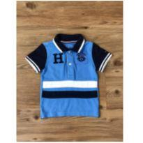 Polo Azul Tommy Hilfiger - 6 a 9 meses - Tommy Hilfiger