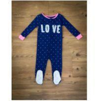 Pijama LOVE Carter`s - 12 a 18 meses - Carter`s