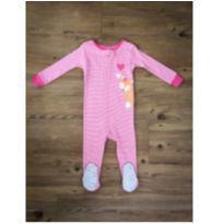 Pijama Raposa Carter`s - 9 a 12 meses - Carter`s