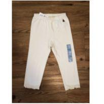 Legging Off White GAP - 18 a 24 meses - GAP