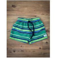 Shorts Listrado L`été - 2 anos - Não informada