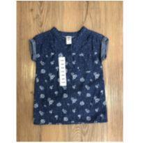 Blusa Jeans OshKosh - 18 meses - OshKosh