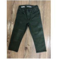 Jeans Slim Verde GAP