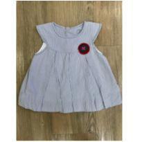 Vestido Listrado Keko Baby - 0 a 3 meses - Keko Baby
