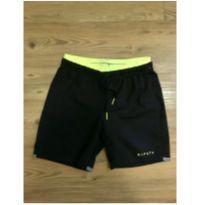 Shorts Preto e Neon Decathlon - 6 anos - Decathlon