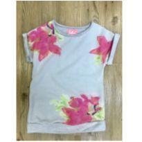 Camiseta Moletinho Floral