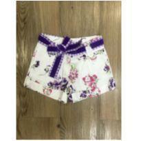 Shorts Floral Monnalisa - 6 anos - MONNALISA